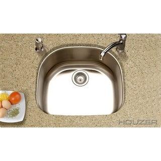 Houzer Medallion Designer Single Bowl