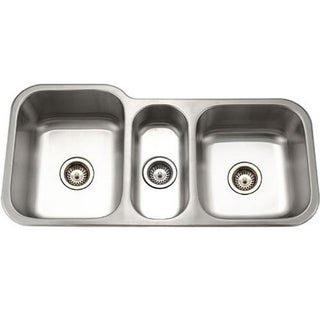Houzer Medallion Gourmet Triple Bowl