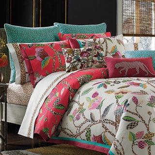 Shop Collier Campbell Leopard Trail 3 Piece Comforter Set