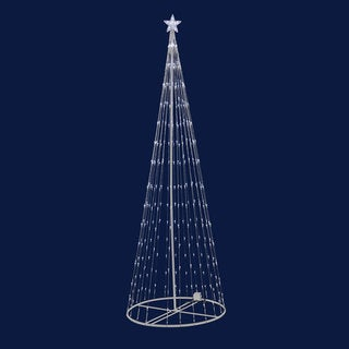 6-foot 200 Warm White LED Light Show Tree