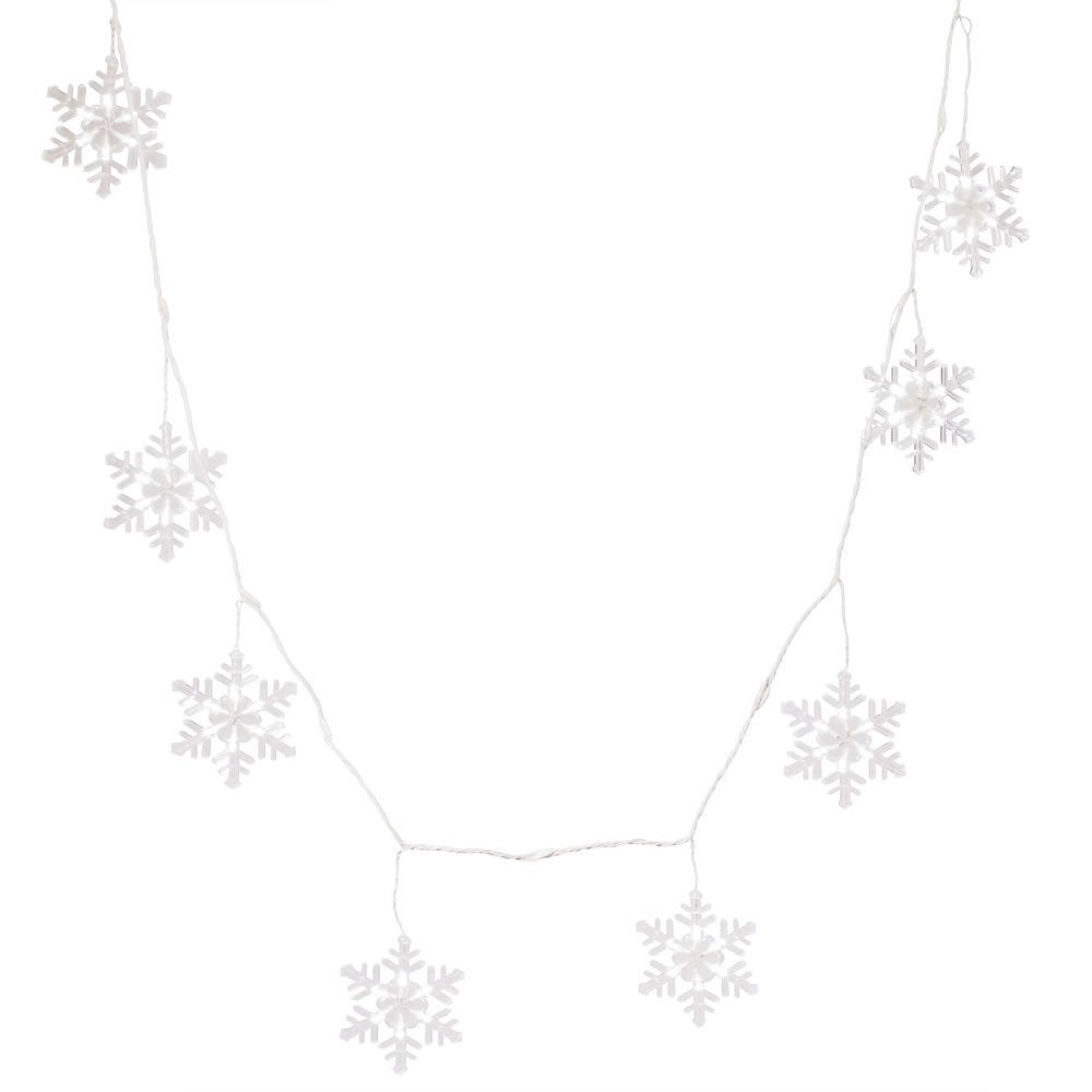 Vickerman 8-function 48-light Cool White LED Snowflake Ic...