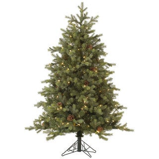 7.5-foot Rocky Mountain Tree with 800 EZ-Plug Dura-Lit Clear Lights