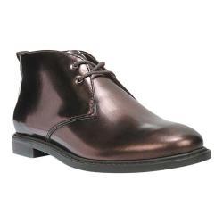 Women's Franco Sarto Tomcat Chukka Boot Bronze Matte Metallic Leather