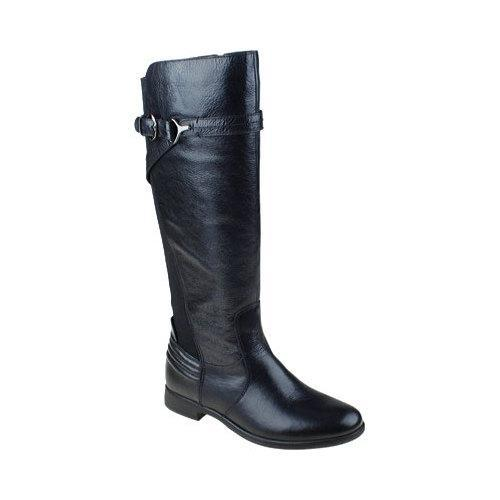 020fc94750e Shop Women s Earth Woodstock Knee High Boot Black Tumbled Leather - Free  Shipping Today - Overstock - 10890093