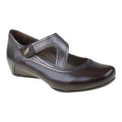 Women's Earthies Zalea Mary Jane Dark Brown Calf Leather