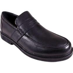 Men's Apex Lexington Penny Loafer Black Full Grain Leather