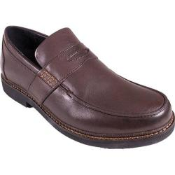 Men's Apex Lexington Penny Loafer Brown Full Grain Leather