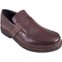 Men's Apex Lexington Penny Loafer Brown Full Grain Leather|https://ak1.ostkcdn.com/images/products/96/210/P17940039.jpg?impolicy=medium