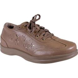 Women's Apex Robyn Chop Out Lace-Up Oxford Tan Full Grain Leather