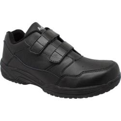 Men's AdTec 9635 Uniform Athletic Adjustable Strap Black Leather