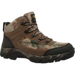 Men's AdTec 9643 6in Waterproof Realtree 400G Camo Boot Brown Leather/Realtree®
