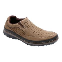 Men's Rockport Activflex Sport Perf Slip On Vicuna Leather