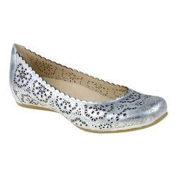 Women's Earthies Bindi Silver Metallic Leather
