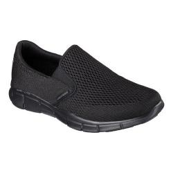 Men's Skechers Equalizer Double Play Slip On Black