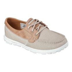 Women's Skechers On the GO Breezy Boat Shoe Natural