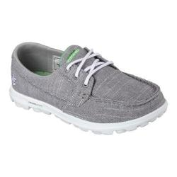Women's Skechers On the GO Mist Boat Shoe Gray