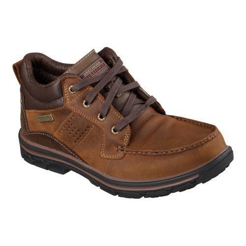 Men's Skechers Relaxed Fit Segment Melego Dark Brown