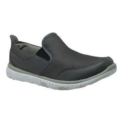 Men's RocSoc 9038 Comfort Stride Slip-On Grey Mesh