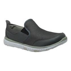 Men's RocSoc 9038 Comfort Stride Slip-On Grey Mesh