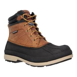 Men's Skechers Work Robards Slip Resistant Boot Brown