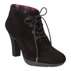 Women's Bandolino Garett Boot Black Suede