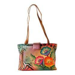 Women's ANNA by Anuschka Medium Tote 8018 Animal Floral|https://ak1.ostkcdn.com/images/products/96/392/P17968579.jpg?impolicy=medium