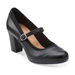 Women's Clarks Brynn Ivy Black Leather