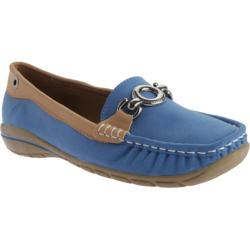 Women's Beacon Shoes Captiva Loafer Sailor Blue Lamy Polyurethane