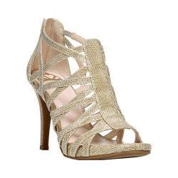 Women's Fergalicious Hattie Sandal Gold Mesh