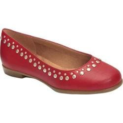 Women's Aerosoles Cubecle Ballet Flat Red Faux Leather