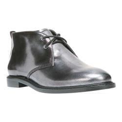 Women's Franco Sarto Tomcat Chukka Boot Anthracite Matte Metallic Leather