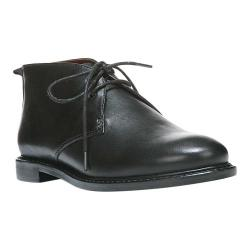 Women's Franco Sarto Tomcat Chukka Boot Black Sofia Crust Leather