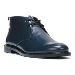 Women's Franco Sarto Tomcat Chukka Boot Dark Blue Box Leather