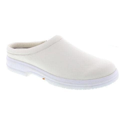 Men's Deer Stags Scrub Clog White