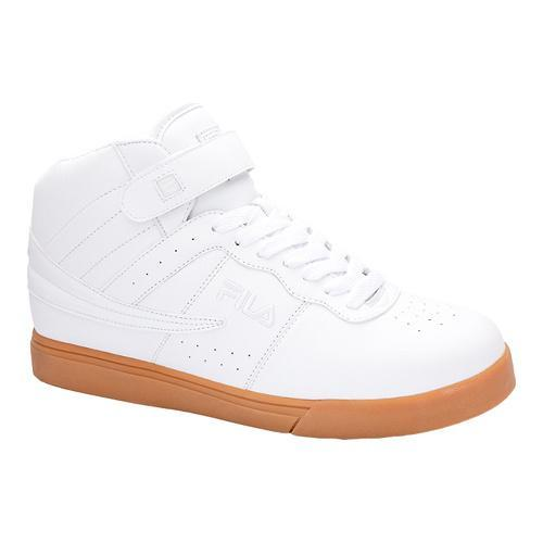 Men's Fila Vulc 13 White/Metallic Silver/Gum - Thumbnail 0