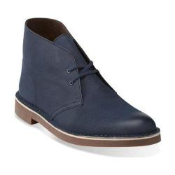 Men's Clarks Bushacre 2 Navy Leather