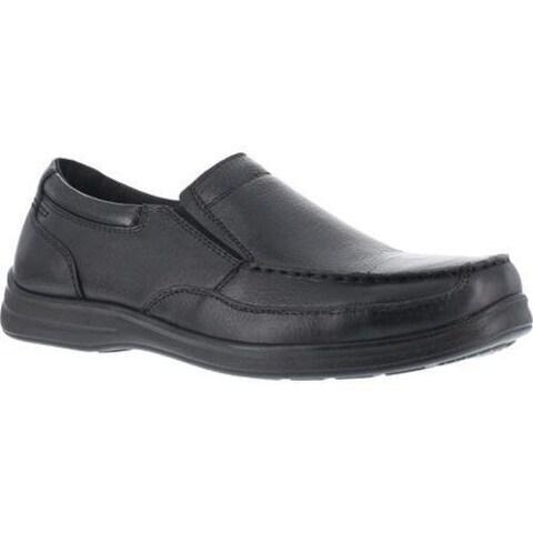 Men's Florsheim Work FS208 Wily Steel Toe ESD Slip-On Black