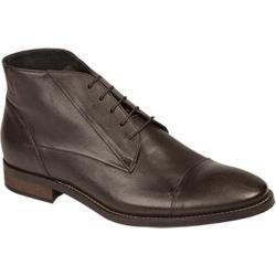 Men's Bacco Bucci 7916-20 Ankle Boot Dark Brown Calfskin
