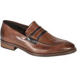 Men's Bacco Bucci 7917-20 Loafer Tan Calfskin