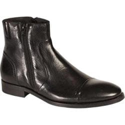 Men's Bacco Bucci 7918-20 Ankle Boot Black Calfskin