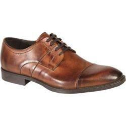Men's Bacco Bucci 7920-20 Cap Toe Oxford Tan Calfskin|https://ak1.ostkcdn.com/images/products/96/915/P18016525.jpg?impolicy=medium