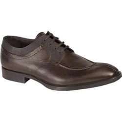Men's Bacco Bucci 7921-20 Oxford Dark Brown Calfskin