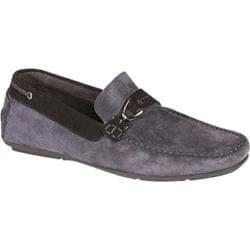 Men's Bacco Bucci 7924-20 Driving Shoe Blue Suede