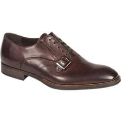 Men's Bacco Bucci Baku Oxford Dark Brown Calfskin