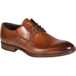 Men's Bacco Bucci Celta Cap Toe Oxford Tan Calfskin