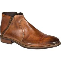 Men's Bacco Bucci City Ankle Boot Tan Calfskin