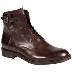 Men's Bacco Bucci Dinamo Ankle Boot Brown Calfskin