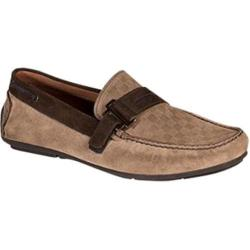 Men's Bacco Bucci Rio Driving Moc Taupe Suede