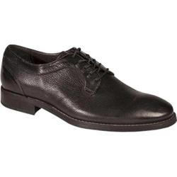 Men's Bacco Bucci Roda Plain Toe Oxford Black Calfskin