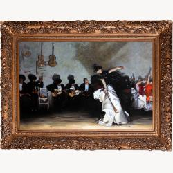 El Jaleo by John Singer Sargent Framed Hand Painted Oil on Canvas
